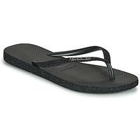 kengät Naiset Varvassandaalit Havaianas SLIM SPARKLE II Musta