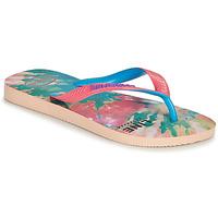 kengät Naiset Varvassandaalit Havaianas TOP FASHION Pink