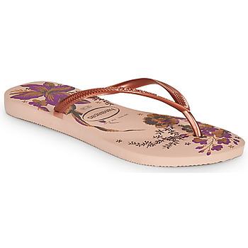 kengät Naiset Varvassandaalit Havaianas SLIM ORGANIC Pink