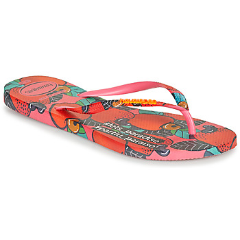 kengät Naiset Varvassandaalit Havaianas SLIM SUMMER Pink / Punainen