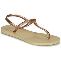 kengät Naiset Sandaalit ja avokkaat Havaianas TWIST Beige