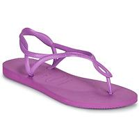 kengät Naiset Sandaalit ja avokkaat Havaianas LUNA Violetti