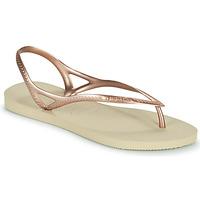 kengät Naiset Sandaalit ja avokkaat Havaianas SUNNY II Beige