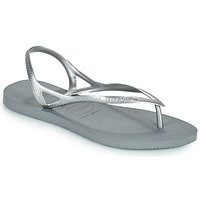 kengät Naiset Sandaalit ja avokkaat Havaianas SUNNY II Hopea