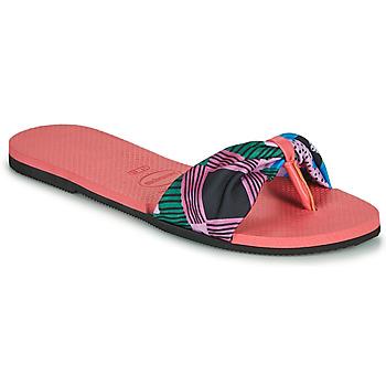 kengät Naiset Varvassandaalit Havaianas YOU SAINT TROPEZ Vaaleanpunainen