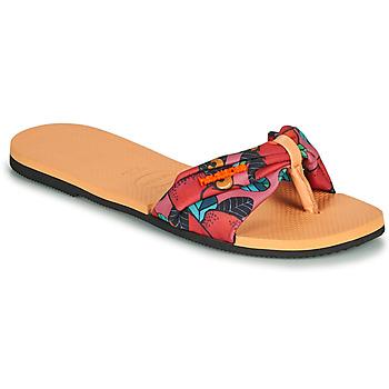 kengät Naiset Varvassandaalit Havaianas YOU SAINT TROPEZ Pink