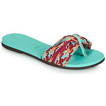 kengät Naiset Varvassandaalit Havaianas YOU ST TROPEZ MESH Sininen