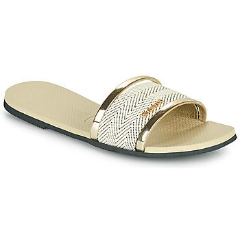 kengät Naiset Sandaalit ja avokkaat Havaianas YOU TRANCOSO PREMIUM Beige