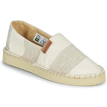 kengät Naiset Espadrillot Havaianas ESPADRILLE CLASSIC FLATFORM ECO Beige