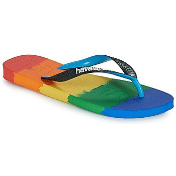 kengät Varvassandaalit Havaianas TOP LOGOMANIA MULTICOLOR Monivärinen