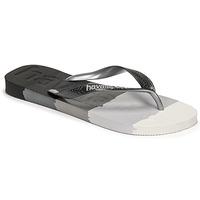 kengät Varvassandaalit Havaianas TOP LOGOMANIA MULTICOLOR Musta