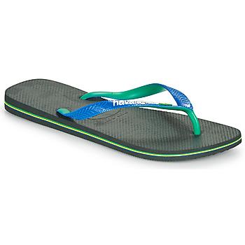 kengät Miehet Varvassandaalit Havaianas BRASIL MIX Musta / Sininen
