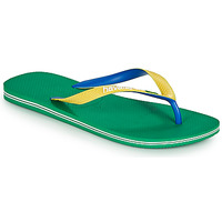 kengät Varvassandaalit Havaianas BRASIL MIX Vihreä
