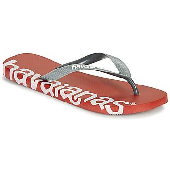 kengät Varvassandaalit Havaianas TOP LOGOMANIA HIGHTECH Punainen