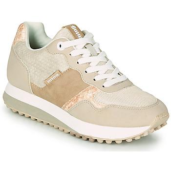 kengät Naiset Matalavartiset tennarit MTNG 60033 Beige