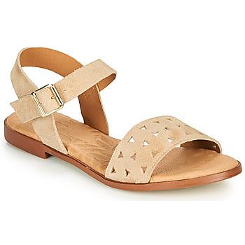 kengät Naiset Sandaalit ja avokkaat MTNG 51062 Beige