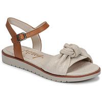 kengät Naiset Sandaalit ja avokkaat MTNG 50506 Beige