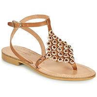 kengät Naiset Sandaalit ja avokkaat Tosca Blu PERLA Camel