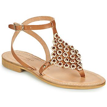 kengät Naiset Sandaalit ja avokkaat Tosca Blu PERLA Kamelinruskea
