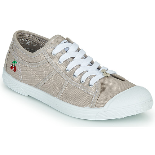 kengät Naiset Matalavartiset tennarit Le Temps des Cerises BASIC LACE Beige