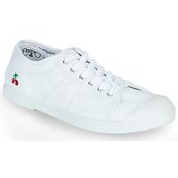 kengät Naiset Matalavartiset tennarit Le Temps des Cerises BASIC LACE Valkoinen