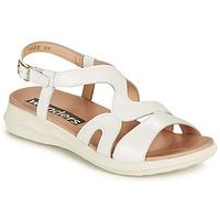 kengät Naiset Sandaalit ja avokkaat Wonders PEWE Valkoinen