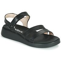 kengät Naiset Sandaalit ja avokkaat Wonders PERA Musta