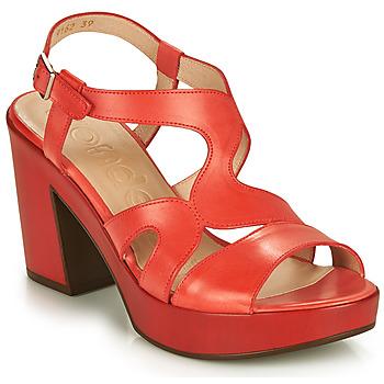kengät Naiset Sandaalit ja avokkaat Wonders PAROTI Punainen