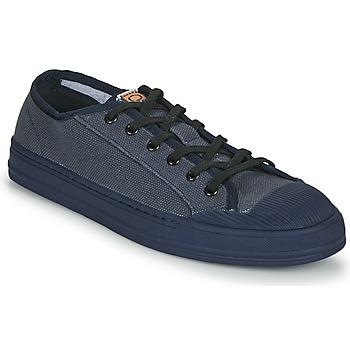 kengät Miehet Matalavartiset tennarit Base London CARGO Sininen