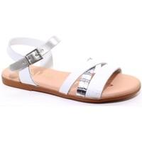 kengät Tytöt Sandaalit ja avokkaat Oh My Sandals 24562-24 Valkoinen