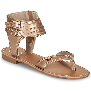 kengät Naiset Sandaalit ja avokkaat Les Petites Bombes VALENTINE Vaaleanpunainen