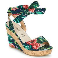 kengät Naiset Sandaalit ja avokkaat Les Petites Bombes BELA Monivärinen