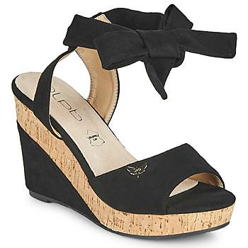 kengät Naiset Sandaalit ja avokkaat Les Petites Bombes BELA Musta
