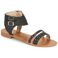 kengät Naiset Sandaalit ja avokkaat Les Petites Bombes BELIZE Musta