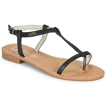 kengät Naiset Sandaalit ja avokkaat Les Petites Bombes BULLE Musta
