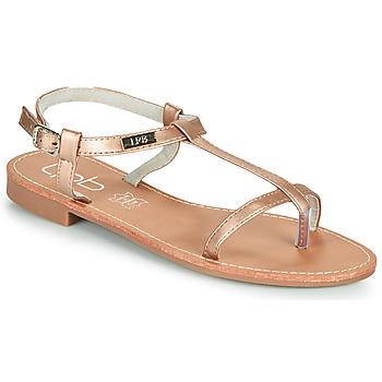 kengät Naiset Sandaalit ja avokkaat Les Petites Bombes BULLE Vaaleanpunainen