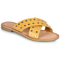 kengät Naiset Sandaalit Les Petites Bombes BELMA Keltainen