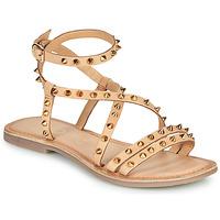 kengät Naiset Sandaalit ja avokkaat Les Petites Bombes BEATA Beige