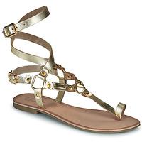 kengät Naiset Sandaalit ja avokkaat Les Petites Bombes BLEONA Kulta