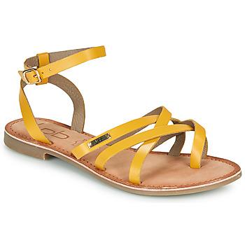 kengät Naiset Sandaalit ja avokkaat Les Petites Bombes BERYLE Keltainen