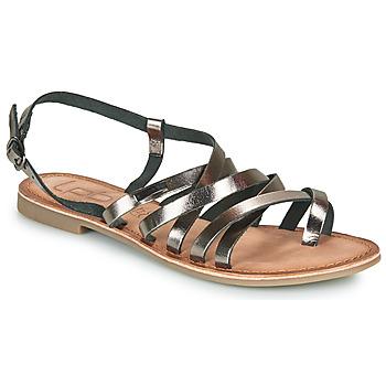 kengät Naiset Sandaalit ja avokkaat Les Petites Bombes BRENDA Harmaa