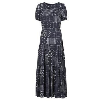vaatteet Naiset Pitkä mekko Lauren Ralph Lauren MYRIAM Laivastonsininen