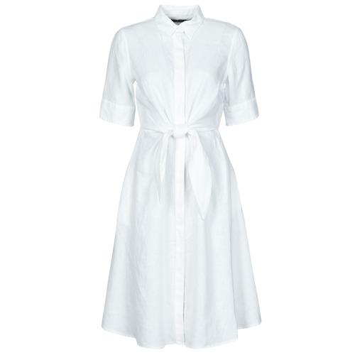 vaatteet Naiset Lyhyt mekko Lauren Ralph Lauren WAKANA Valkoinen