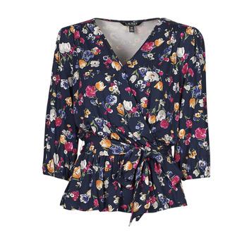 vaatteet Naiset Lyhythihainen t-paita Lauren Ralph Lauren SHIANETA Monivärinen