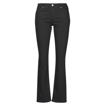 vaatteet Naiset Suorat farkut Lauren Ralph Lauren MIDRISE STRT-5-POCKET-DENIM Black