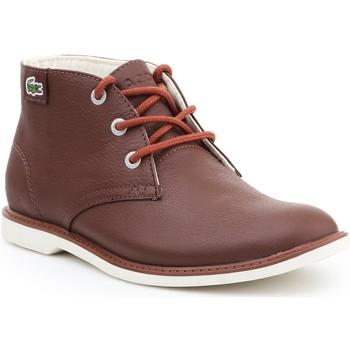 kengät Naiset Bootsit Lacoste Sherbrook HI SB SPJ 7-30SPJ101177T brown