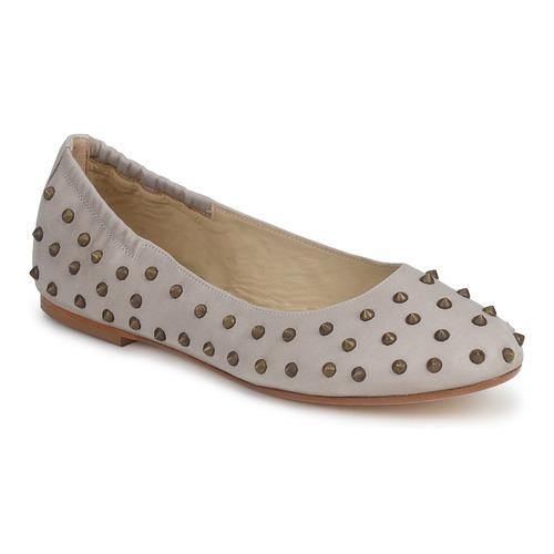 kengät Naiset Balleriinat Now CROTONE Beige