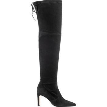 kengät Naiset Ylipolvensaappaat Högl Highliner Schwarz Musta