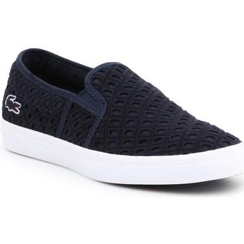 kengät Naiset Tennarit Lacoste Gazon 219 1 Cfa Tummansininen