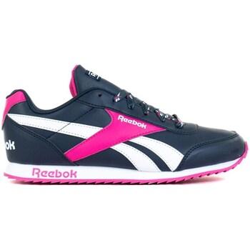 kengät Lapset Matalavartiset tennarit Reebok Sport Royal Cljog 2 Valkoiset, Tummansininen, Vaaleanpunaiset